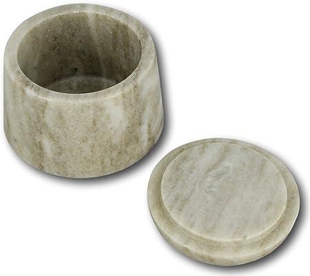 Boîte de rangement en marbre pour le Galaxy brun à la main ...