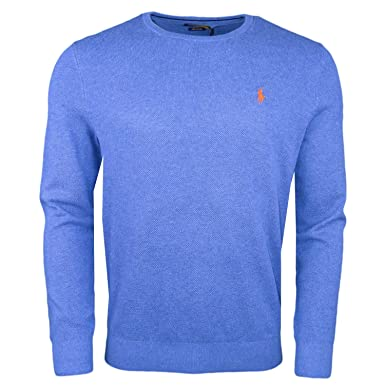974fbff117b8af Ralph Lauren Polo Herren Blau Slim Fit Pullover-XXL  Amazon.de ...