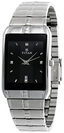 80674bb295ff Image Unavailable. Image not available for. Colour: Titan Karishma Analog  Black Dial Men's Watch ...