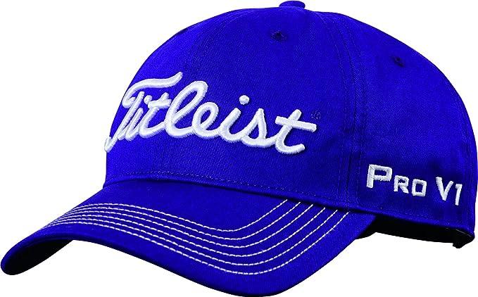 ac7af638d1780 Amazon.com   Titleist Contrast Stitch Hat 2016 (Purple)   Sports ...