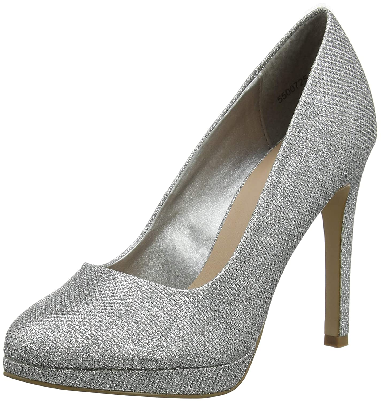 TALLA 36 EU. New Look 5500725, Zapatos de tacón con Punta Cerrada para Mujer