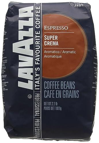 Lavazza Super Crema Coffee Beans (1kg): Amazon.co.uk: Grocery