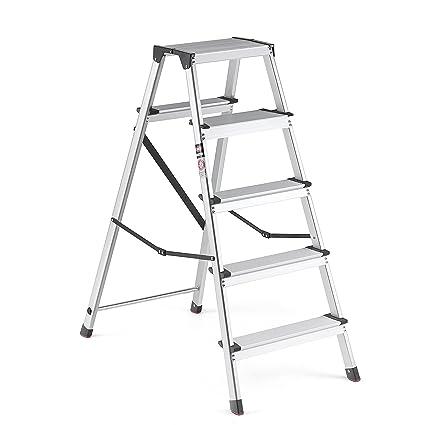 100 Werner 6 Ft Aluminum Step Ladder With 250 Lb Load