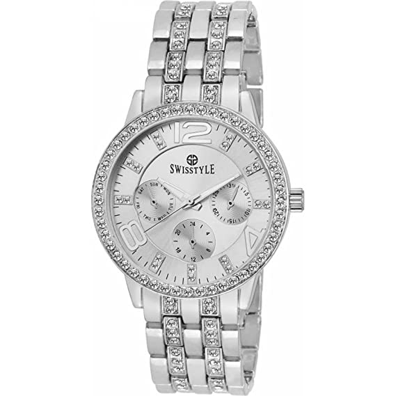 6bfce19831e Buy BRITTONv Analogue Silver Dial Women s Watch Online at Low Prices in  India - Amazon.in