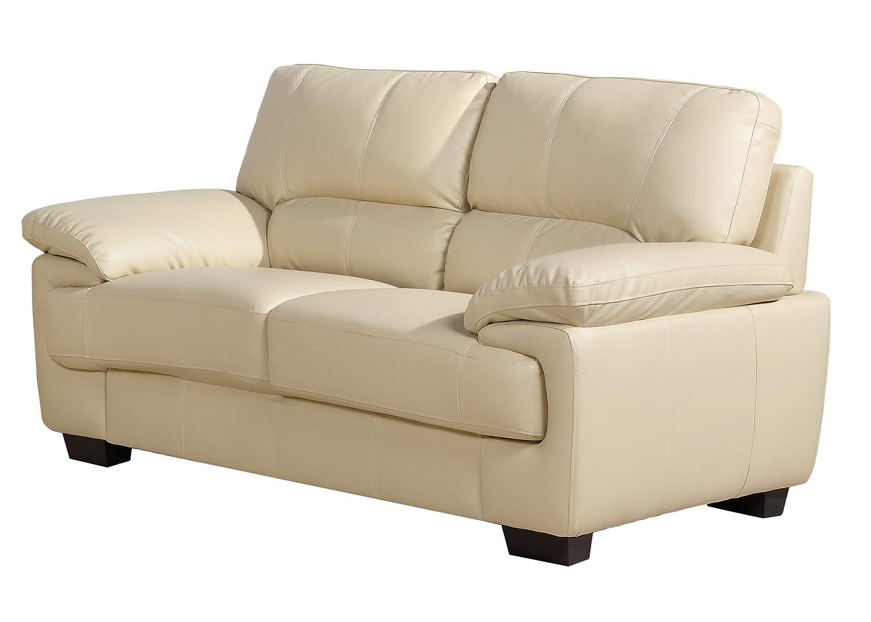 2 seater cream leather sofa sofa review for Cream leather sofa