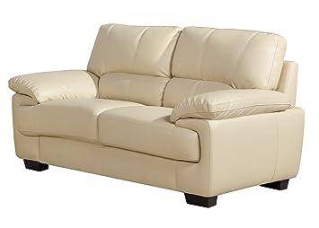 Capella Bonded y Venus 2 asiento Sofá de piel sintética ...
