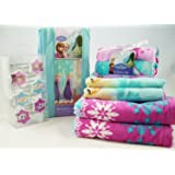 Disney frozen elsa anna and olaf bathroom accessories bundle of 6 items home kitchen for Anna s linens bathroom accessories