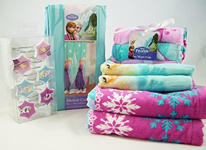 Disney Frozen – Juego de toallas de baño