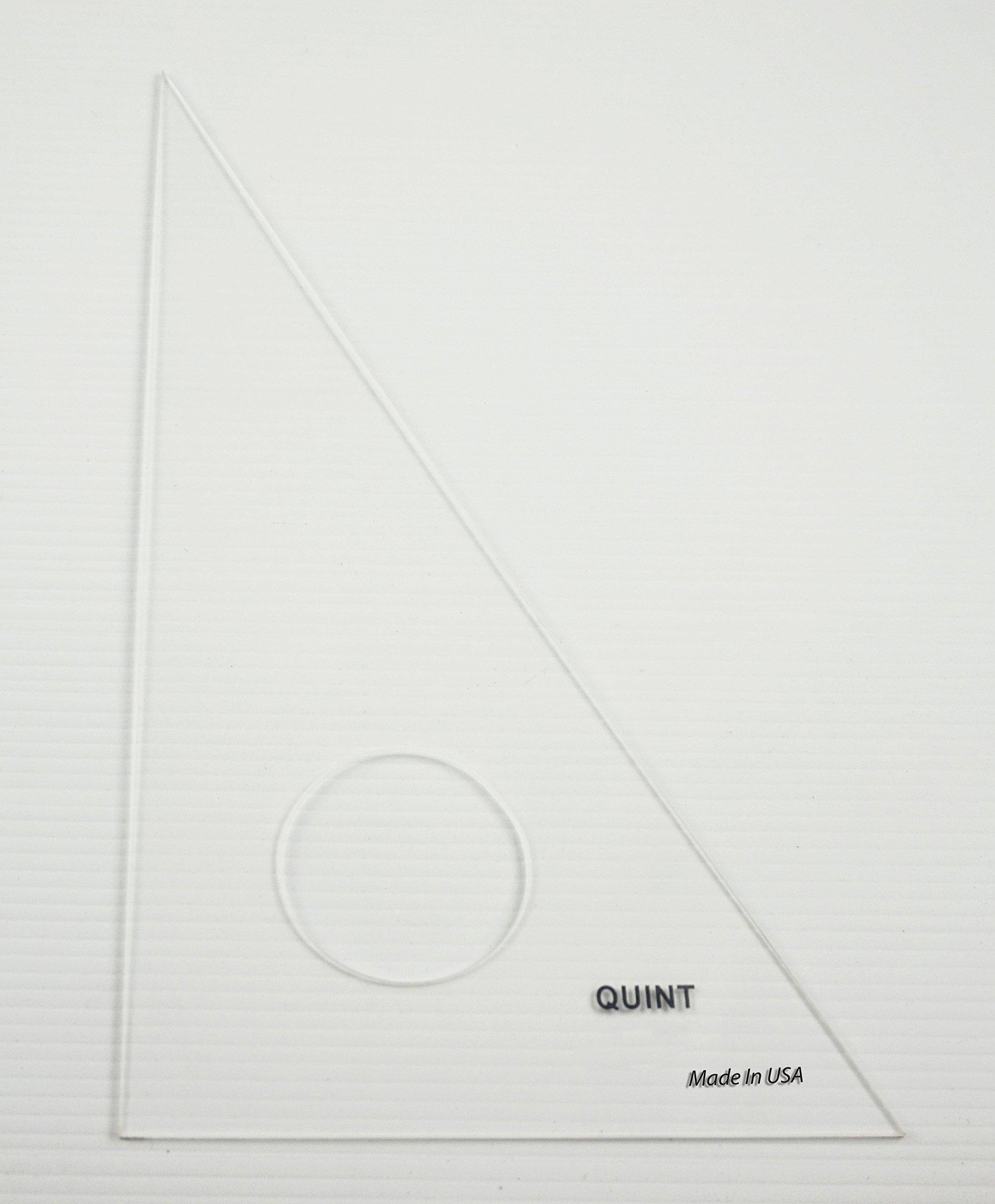 QUINT Premium Unbreakable Clear Academic Triangle 30/60 - 6'' 30 Piece Classroom Pack