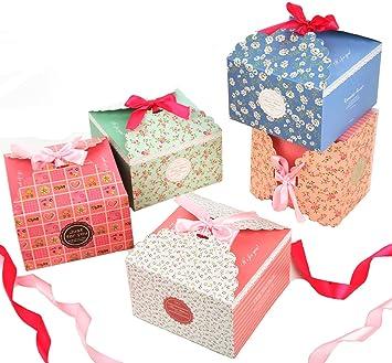 Scatole Per Regali Di Natale.Scatole Natale Fashionbabies Confezioni Regalo Set Di 15 Scatole