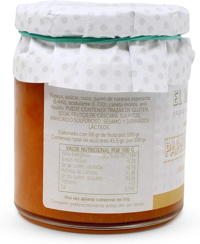 Mermelada EL MASAPÉ Papaya-Coco 290 gr. Producto Islas ...