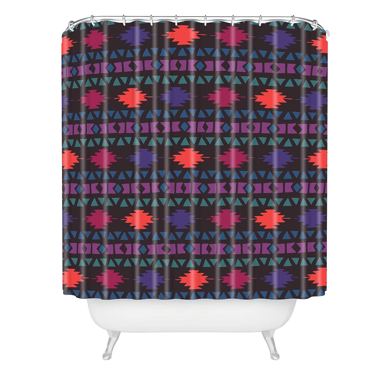 Deny Designs 71 by 74-Inch Zoe Wodarz Warm Southwest Shower Curtain, Standard