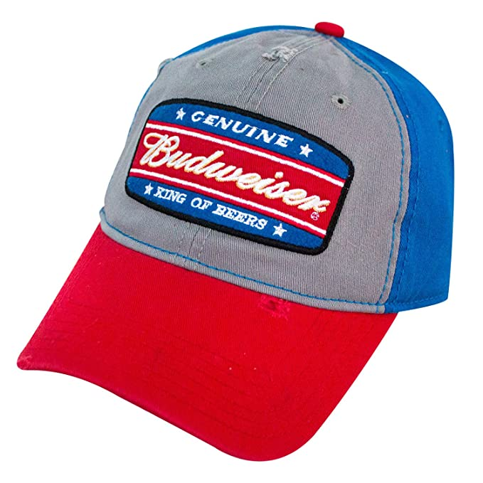 f6ae02762ba Image Unavailable. Image not available for. Color  Budweiser King of Beers  Garnet Wash Snapback Hat