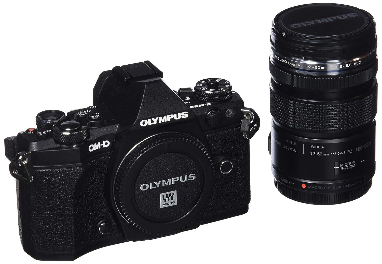Olympus OM-D E-M5 Mark II - Cámara Evil de 16.1 MP con Objetivo M. Zuiko EZ 12-50 mm f3.5 (Pantalla táctil 3