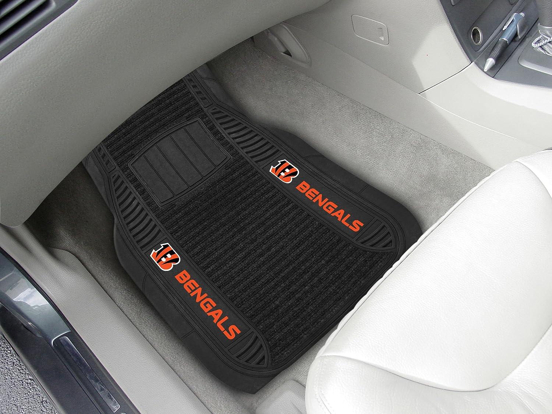FANMATS 14754 NFL Cincinnati Bengals Deluxe Car Mat