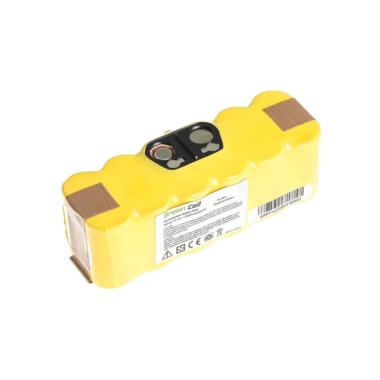 Green Cell® Batería de Aspirador para iRobot Roomba 876 (Ni-MH celdas 4.5Ah 14.4V) : Amazon.es: Hogar