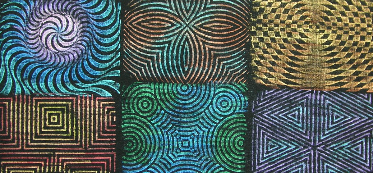 Cedar Canyon Jack Richeson Rubbing Plates, Set of 6 Cedar Canyon Textiles JACK-210900