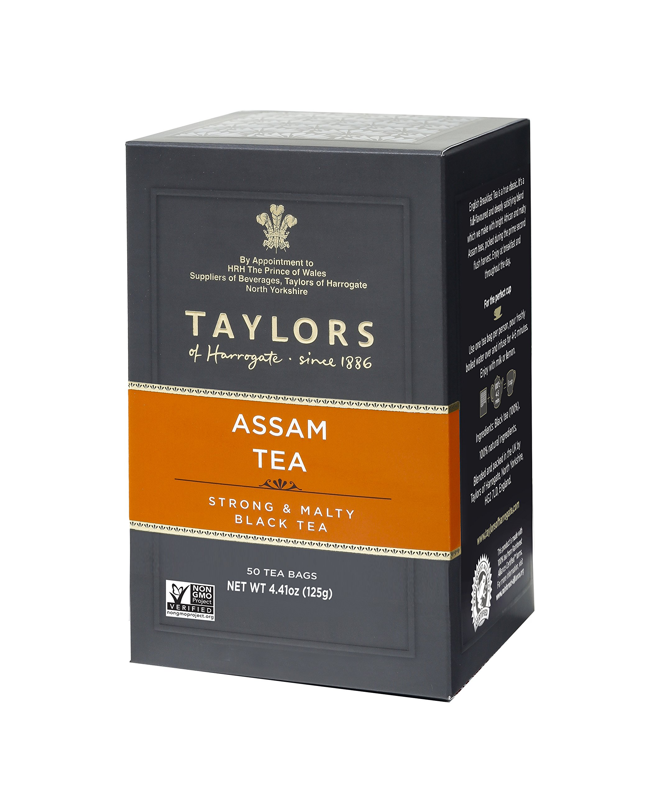 Taylors of Harrogate Pure Assam, 50 Teabags, Pack of 6)