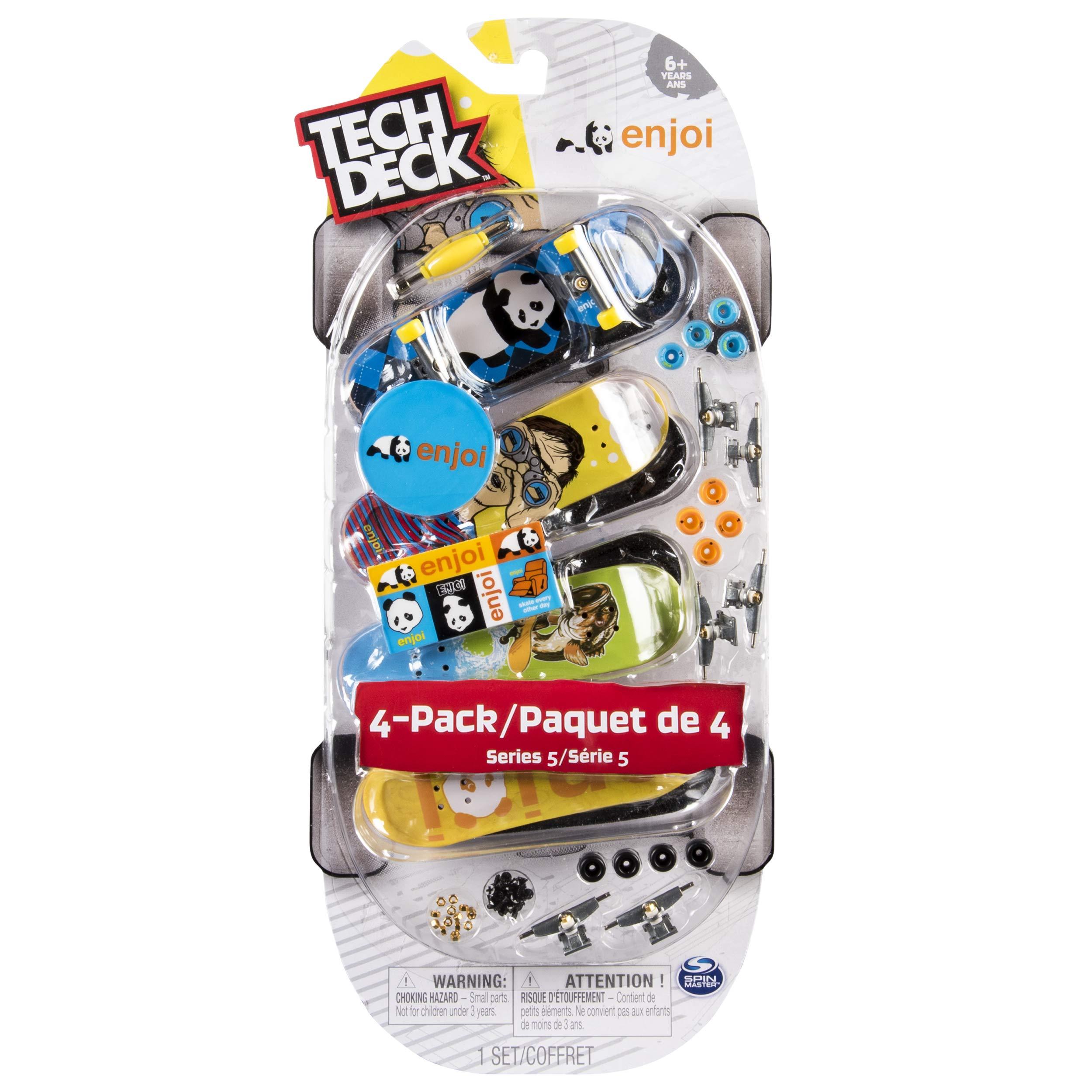 TECH DECK - 96mm Fingerboards - 4-Pack - Enjoi