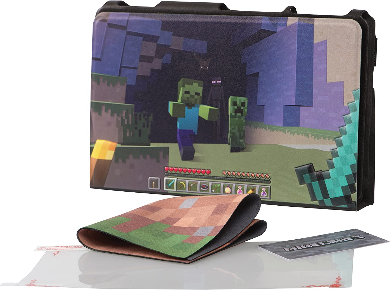 PowerA - Funda protectora con soporte incorporado Minecraft World (Nintendo Switch): Amazon.es: Videojuegos