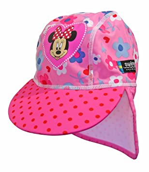 4bc641f95d2 Disney Junior Swimpy Girl s Minnie Mouse UV Flap Hat - Pink