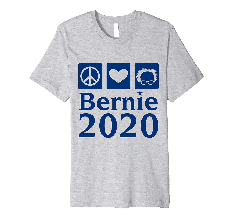 Bernie Sanders 2020 Peace Love Election T-Shirt