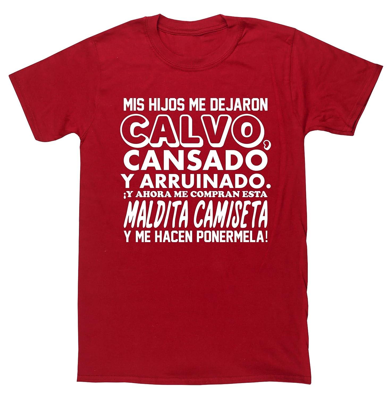 ¡Y AHORA ME COMPRAN ESTA MALDITA CAMISETA Y ME HACEN PONERMELA!camiseta  manga corta unisex  Amazon.es  Ropa y accesorios 1ab49497e2444