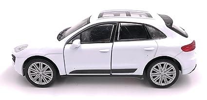 Producto de licencia de automóvil modelo de SUV Welly Porsche Macan 1: 34-1