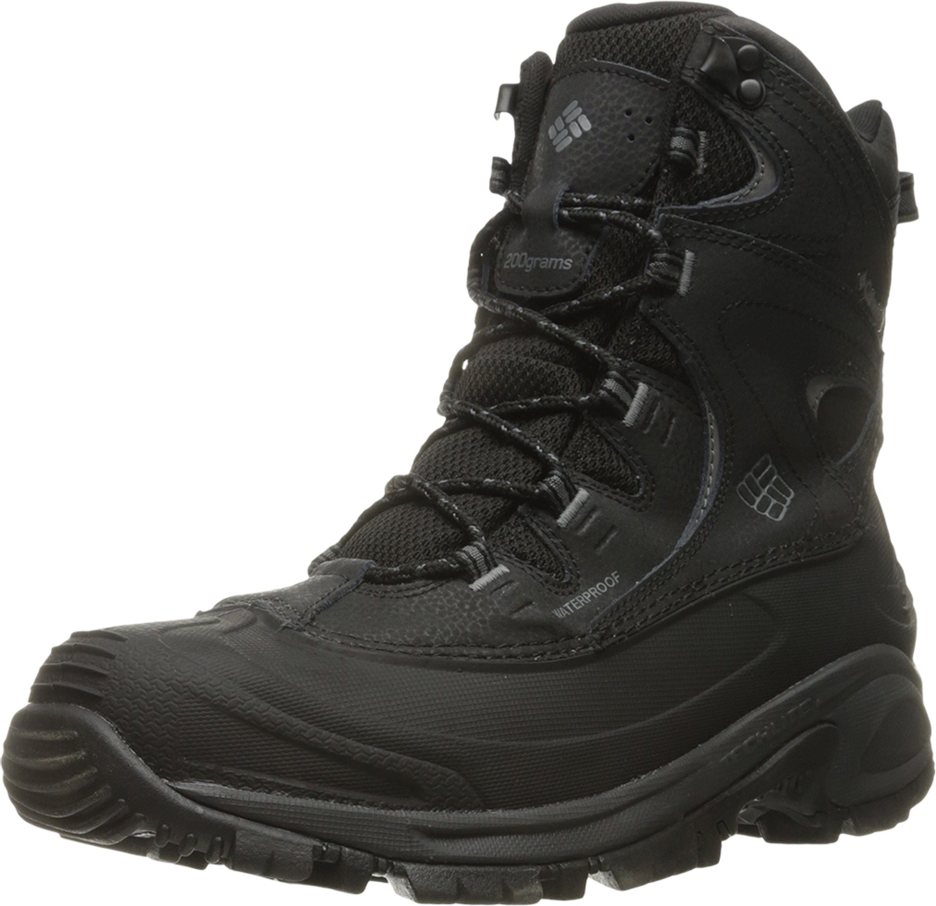 Columbia Men's Bugaboot Ii Snow Boot, Black, Charcoal, 9.5 D US