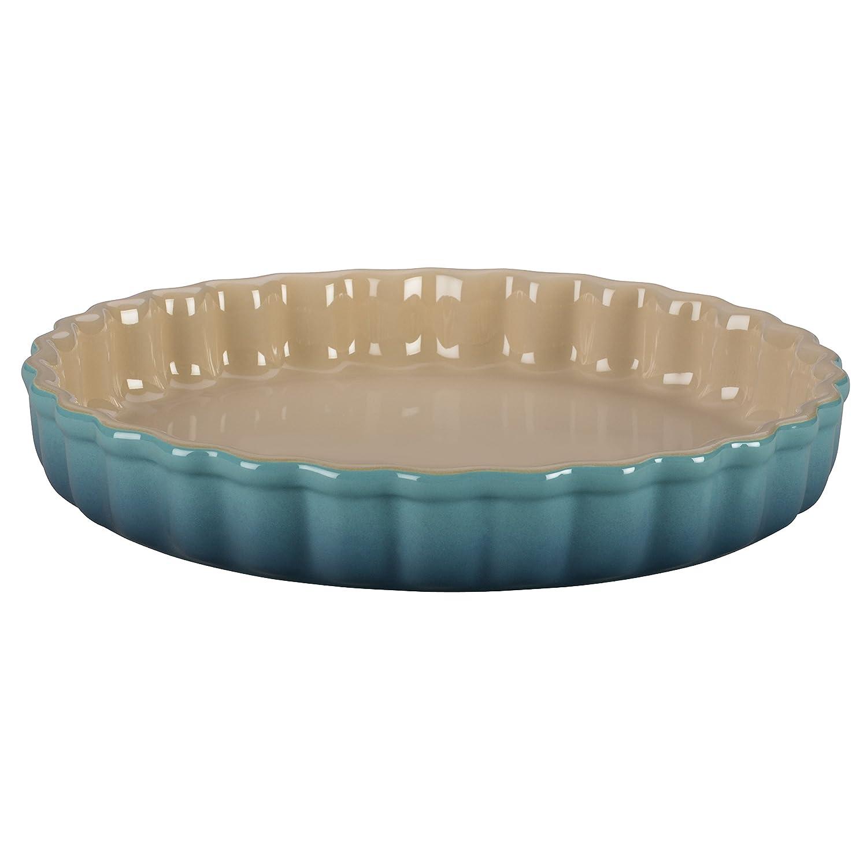 Tart Dish Size: 1.5 Qt. / 9, Color: Caribbean Le Creuset