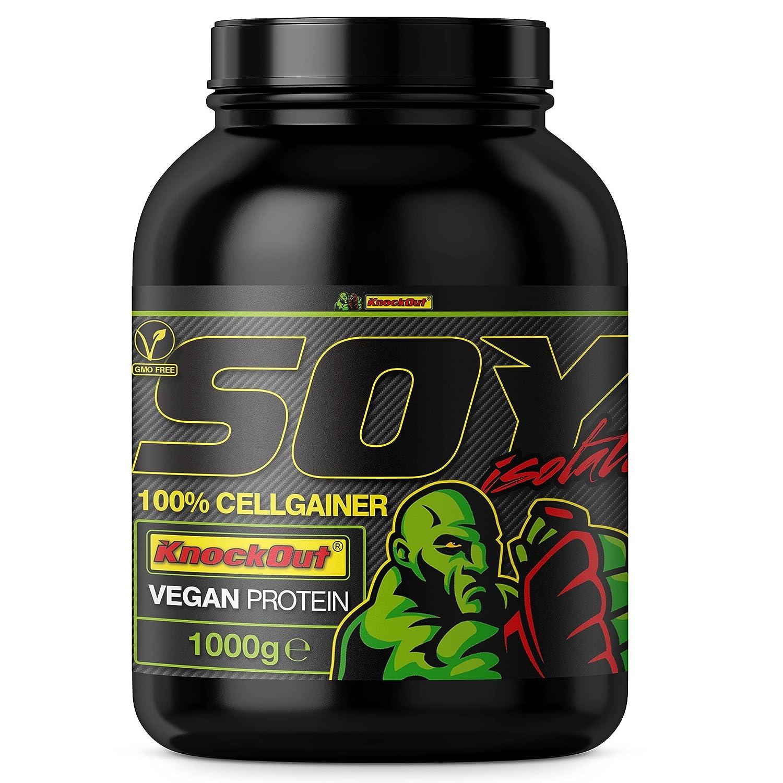 100%SojaCG, Soja CellGainer - Proteína sin lactosa, 1kg banana: Amazon.es: Salud y cuidado personal