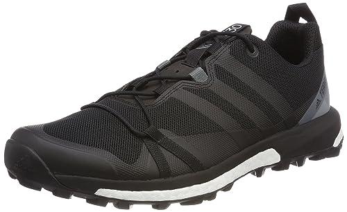 best sneakers 01394 8ae92 adidas Terrex Agravic, Scarpe da Trail Running Uomo, Nero Negbas Grivis 000,