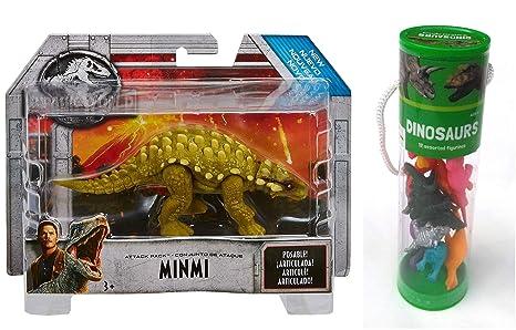 bcbf50abab7d Amazon.com: Minmi Dinosaur Jurassic World Action Figure + Best ...
