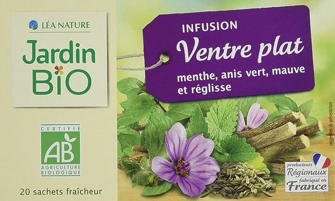 Jardin Bio Infusion Ventre Plat 30 G Lot De 4 Amazon Fr Epicerie
