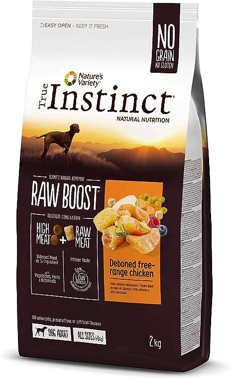 True Instinct Raw Boost - Natures Variety -con Pollo Deshuesado - 2kg