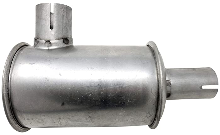 Clamp-on Muffler for Gravely Replaces Gravely 18543