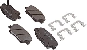 ACDelco 17D1432CH Professional Ceramic Front Disc Brake Pad Set
