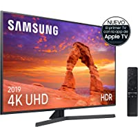 """Samsung 4K UHD 2019 50RU7405 - Smart TV de 50"""" con Resolución 4K UHD, Ultra Dimming, HDR (HDR10+), Procesador 4K, One Remote Control, Apple TV y compatible con Alexa"""