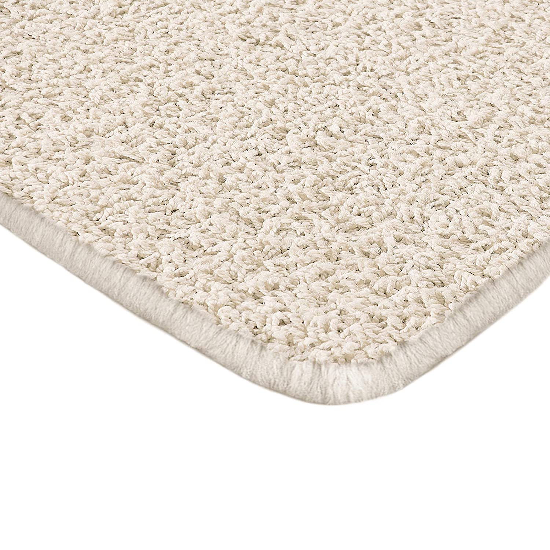 braun 160x230cm Floori Shaggy Hochflor Teppich moderner Wohnzimmerteppich
