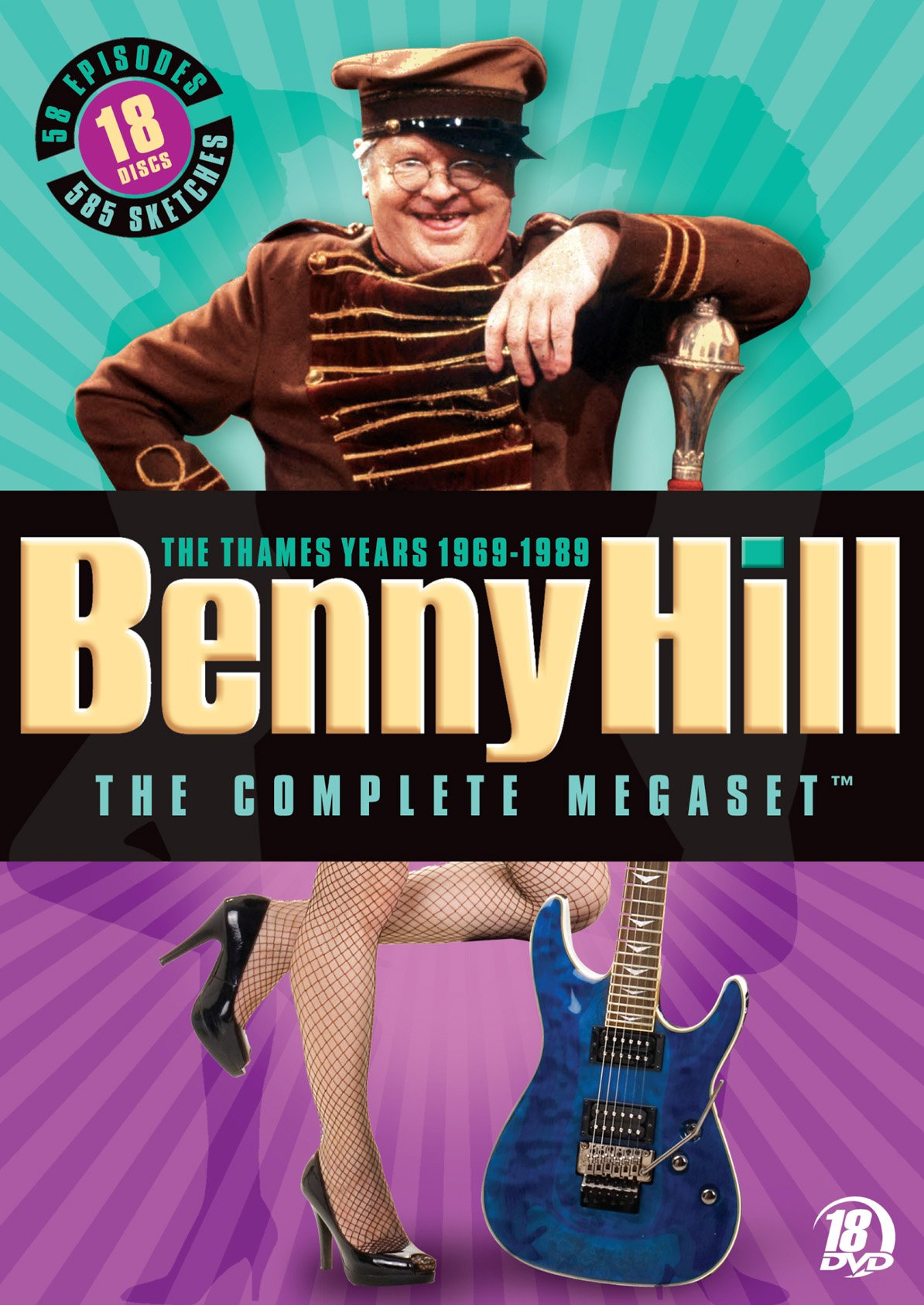 Benny Hill: The Complete Megaset: The Thames Years 1969-1989