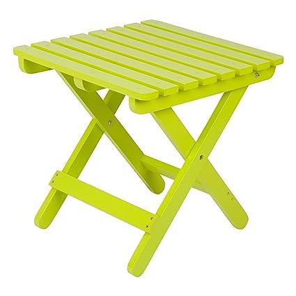 Amazon.com: Shine Company, mesa lateral plegable para ...