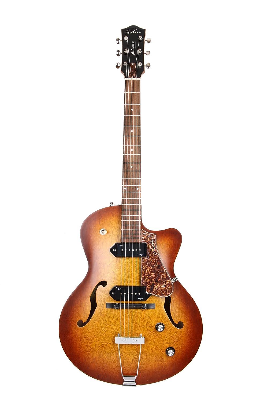 Godin ゴダン 5th Avenue CW エレキギター (Kingpin II, Cognac Burst) エレキギター エレクトリックギター (並行輸入)   B002QGTR28