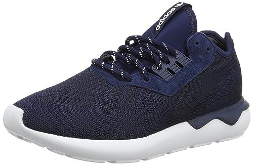 info for 89341 b962b adidas Tubular Runner, Men s Running Shoes, Blue (Collegiate Navy Collegiate  Navy