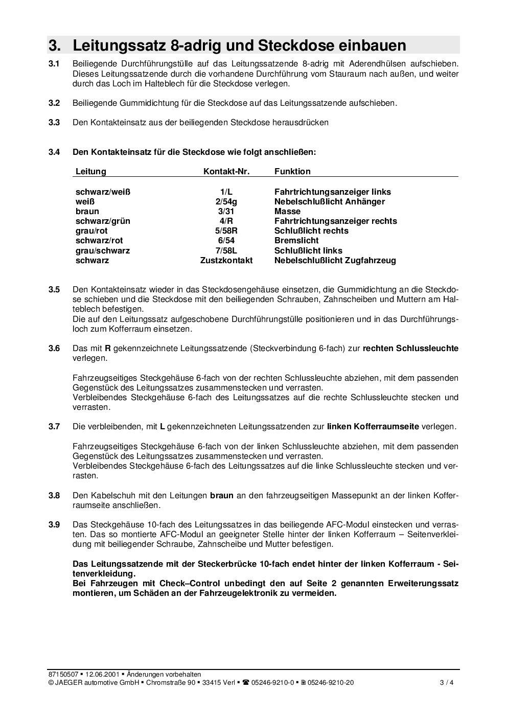 Atemberaubend 4 Poliger Anhängerkabelbaum Ideen - Die Besten ...
