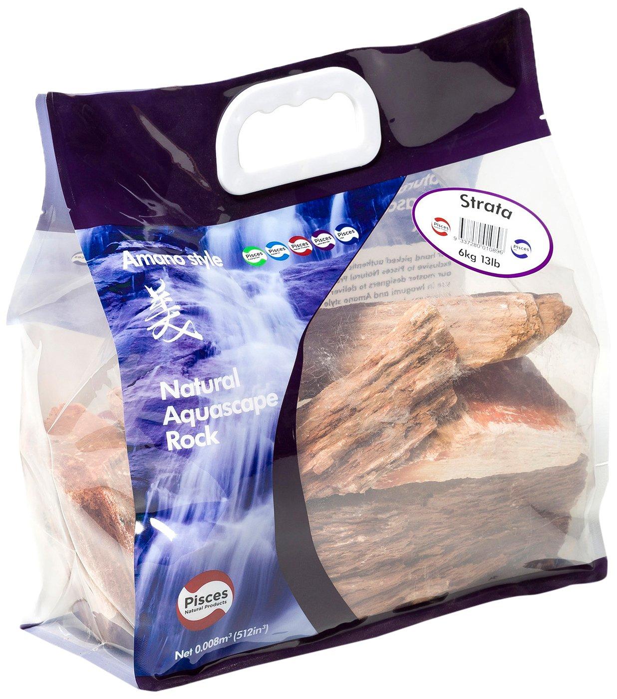 Pisces 13 lb Strata Rock, Varies by Pisces