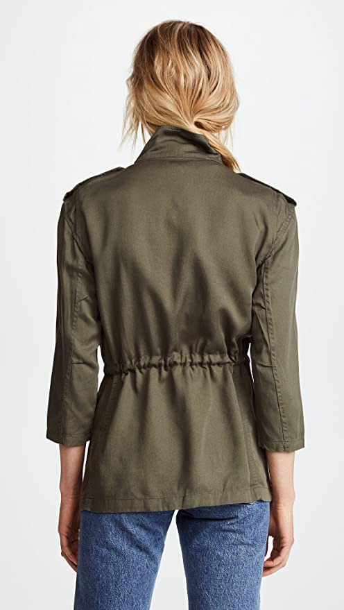 Amazon.com: DL1961 Women s Beekman chamarra Militar: Clothing