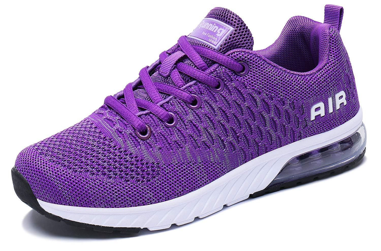 PENGCHENG Men Women Air Cushion Athletic Running Shoes Lightweight Walking Casual Tennis Sneakers