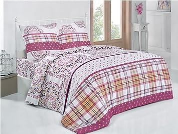 Bettwasche 200x220 Baumwolle Bettgarnitur Mit Reissverschluss 3