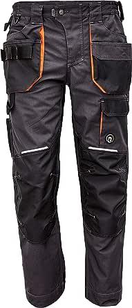 DINOZAVR Emerton Plus Pantalones de Trabajo para Hombre con Bolsillos para Rodillera y Cintura Elástica