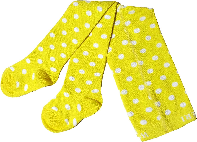 colore: Vaniglia a pois Weri Spezials Collant per neonati e bambini